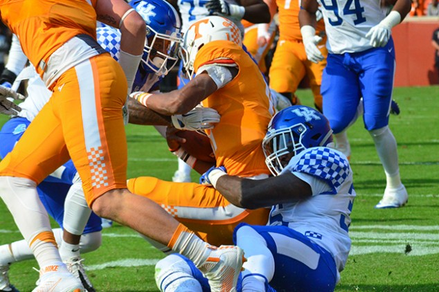 Vols Lucky To Be In Music CityBowl